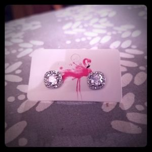 Sterling Siver 925 CZ Earings